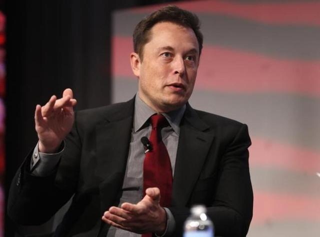 Tesla Motors CEO Elon Musk, seen in January. (REUTERS/Rebecca Cook)
