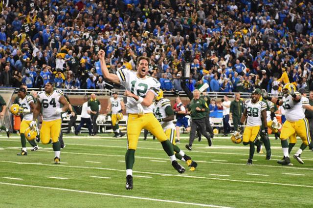 Dec 3 2015 Detroit MI USA Green Bay Packers Quarterback Aaron