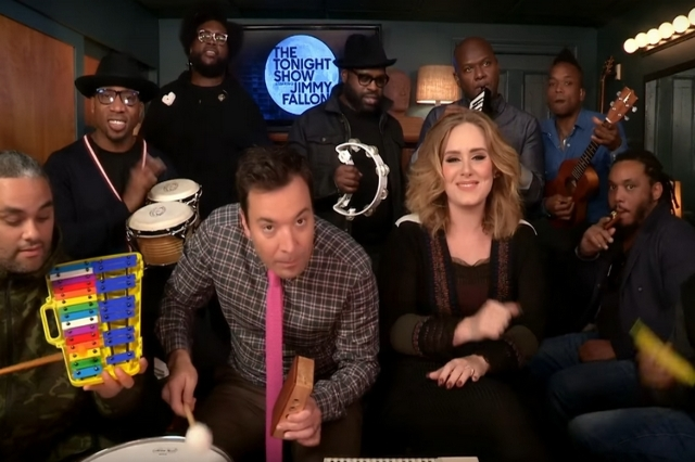 "Adele on ""The Tonight Show with Jimmy Fallon."" (CNN)"
