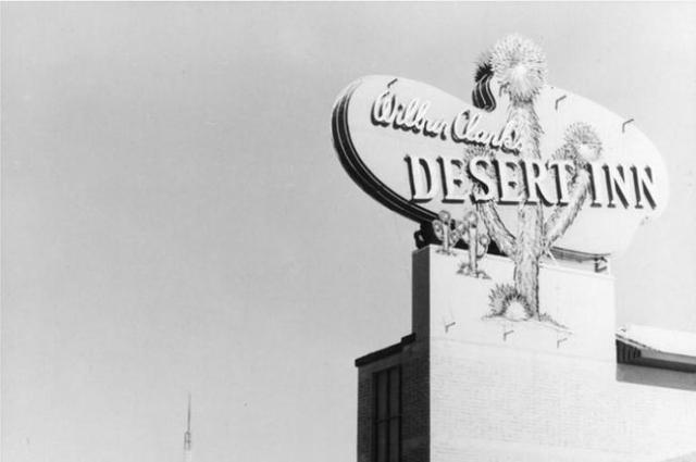 Wilbur Clark's Desert Inn is shown in this undated photo. (Review-Journal file)