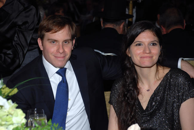Patrick Dumont, Las Vegas Sands Corp. senior vice president of finance and strategy, and his wife, Sivan Ochshorn, are seen attending the Zionist Organization of America Herzl-Brandeis Award dinne ...