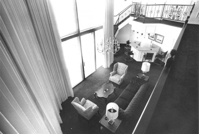 The Presidential Suite at the Desert Inn is shown in this 1980 photo. (Review-Journal file)
