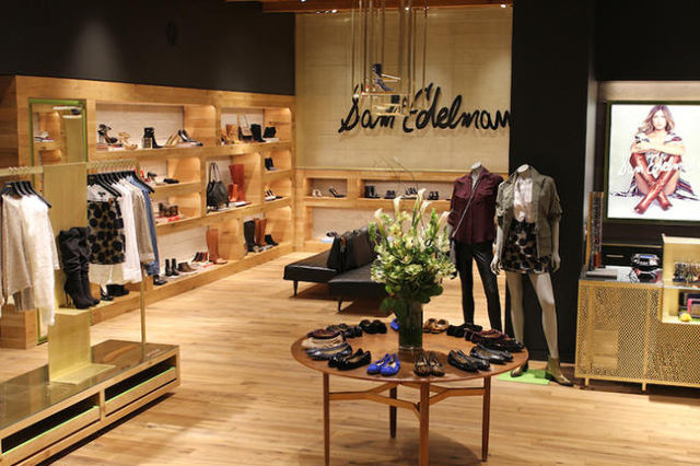 Sam Edelman, a shoe and clothing designer, opened a 2,500-square-foot store Dec. 4 at the Forum Shops at Caesars. (Courtesy photo)