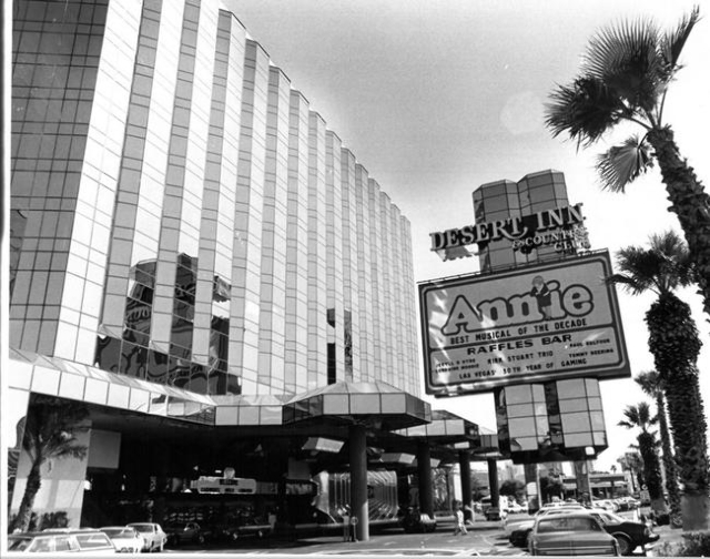 The Desert Inn is seen on July 9, 1981. (Scott Henry/Las Vegas Review-Journal)