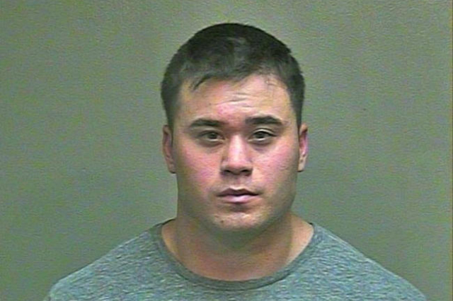 Former Oklahoma City officer Daniel Holtzclaw was arrested Thursday, August 21, 2014.