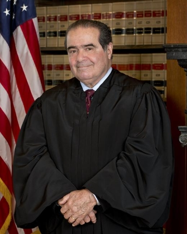 Associate Justice Antonin G. Scalia, Supreme Court (The Collection of the Supreme Court of the United States/CNN)