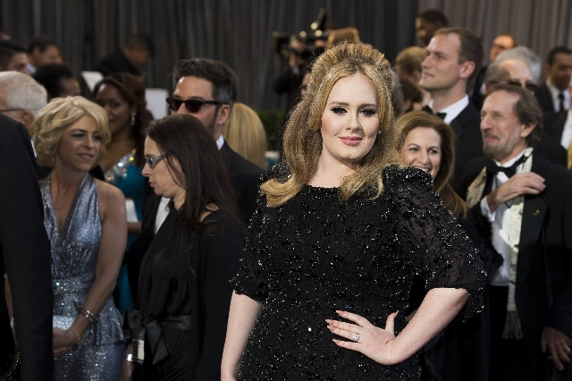 Adele at the 2013 Academy Awards in Los Angeles. (CNN)
