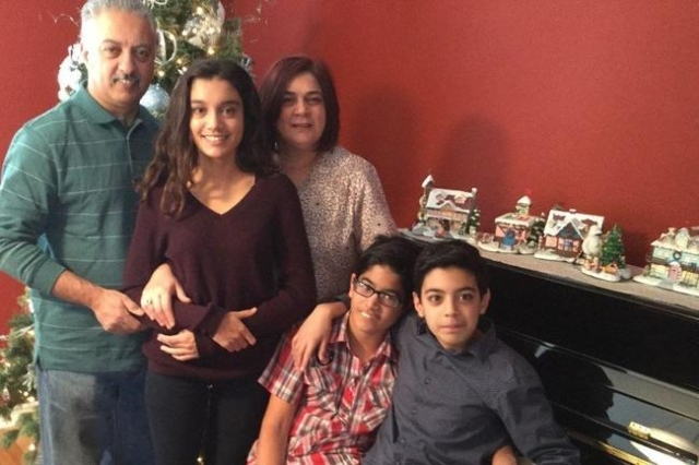 Bennetta Betbadal with her husband and kids (CNN)