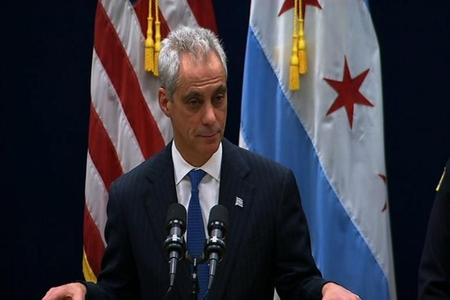On December 8, 2015, Chicago Mayor Rahm Emanuel, has announced a series of measures, including expanding the police body camera program and establishing a task force to review police discipline pr ...