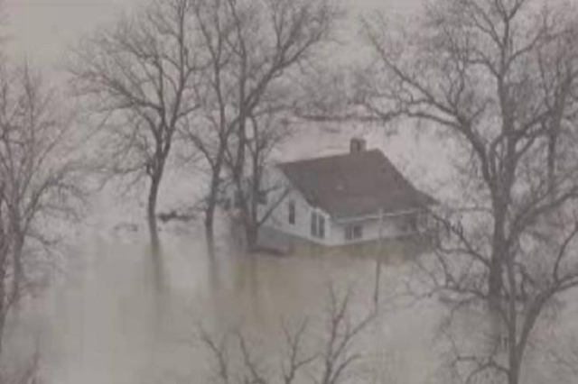 Residents of West Alton, Missouri are being evacuated due to the over-topping of the Consolidated North County Levee on the Mississippi River. (KMOV/CNN)