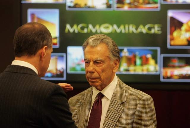 MGM Resorts' founder and largest shareholder Kirk Kerkorian is shown Feb. 24, 2005. (Las Vegas Review-Journal file)