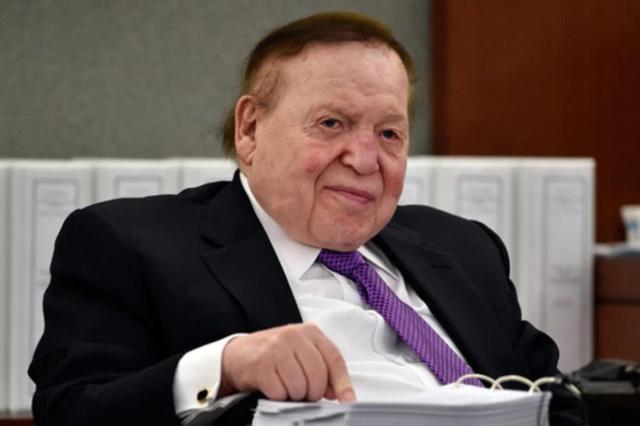 Sheldon Adelson (Las Vegas Review-Journal File)