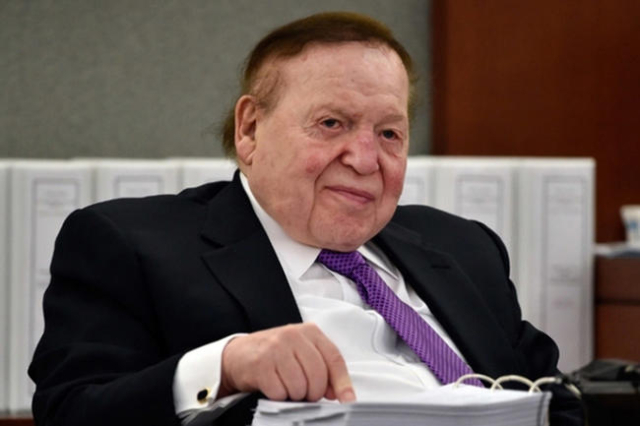 Sheldon Adelson (Las Vegas Review-Journal File)