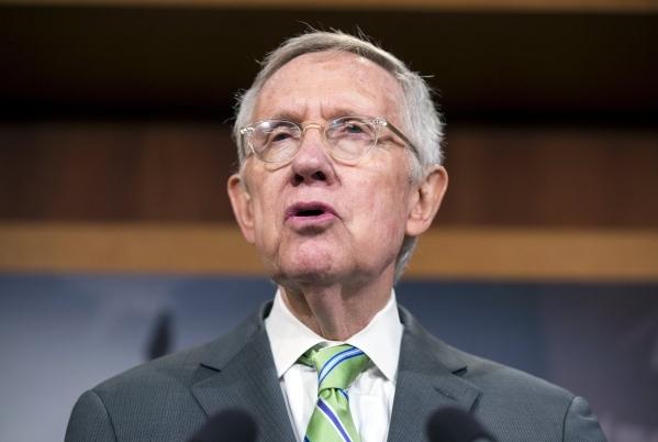 Senate Minority Leader Harry Reid (D-Nev.) on September 10, 2015. (Joshua Roberts/Reuters)