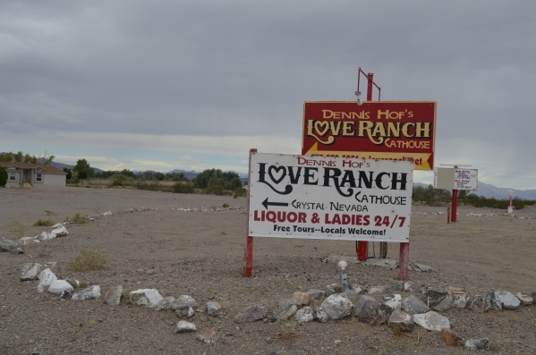 Former NBA player Lamar Odom had employees at the Love Ranch sign confidentiality agreements upon his visit, brothel owner Dennis Hof said. Daria Sokolova/Pahrump Valley Times