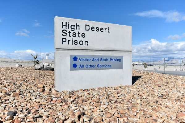 The High Desert State Prison, a part of the State of Nevada Department of Corrections, is seen on Tuesday, Nov. 10, 2015. David Becker/Las Vegas Review-Journal