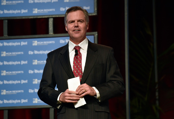 MGM Resorts International CEO James Murren speaks during the Washington Post's 2016 Pregame at the MGM Grand on Monday, Dec. 14, 2015, in Las Vegas. David Becker/Las Vegas Review-Journal