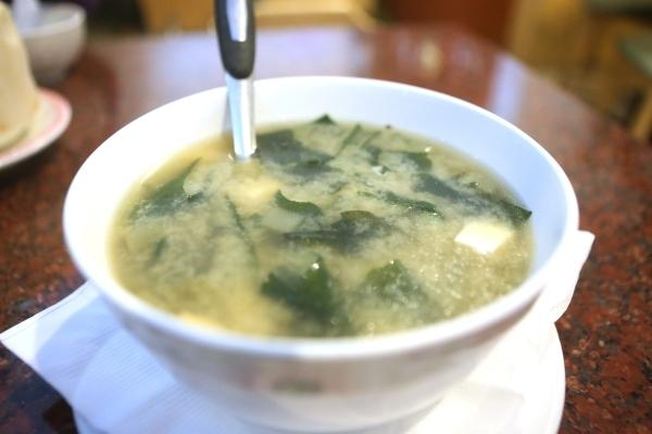Miso soup with seaweed and tofu is seen served at Veggie House, 5115 Spring Mountain Road, No. 203, in Las Vegas on Sunday Dec. 13, 2015. Erik Verduzco/Las Vegas Review-Journal Follow @Erik_Verduzco