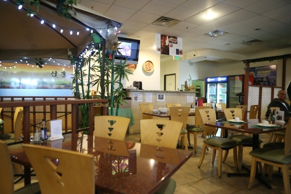 Veggie House restaurant, 5115 Spring Mountain Road, No. 203, in Las Vegas is seen on Sunday Dec. 13, 2015. Erik Verduzco/Las Vegas Review-Journal Follow @Erik_Verduzco
