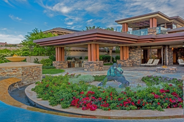The Walter's Seven Hills' 8,299-square-foot mansion is listed at $4.9 million through broker Donna Ruthe, owner of the Today's Realty Inc. real estate firm. It has six bedrooms,  ...
