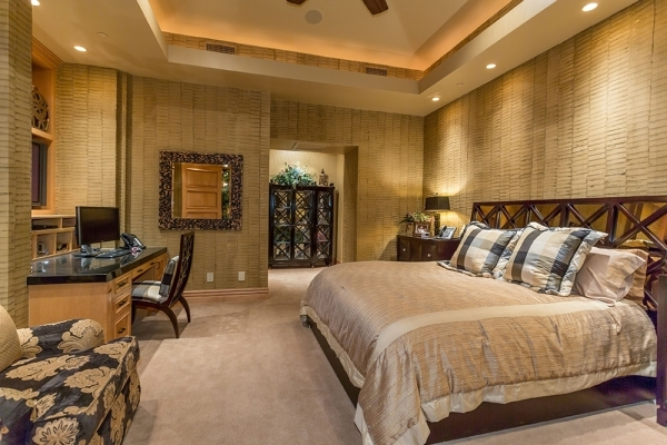 The home's second master bedroom. COURTESY