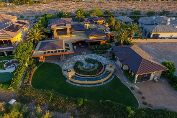 Las Vegas high-profile sports betting and golf course magnate Bill Walters and his wife, Susan have listed their Seven Hills home, for nearly $5 million. COURTESY