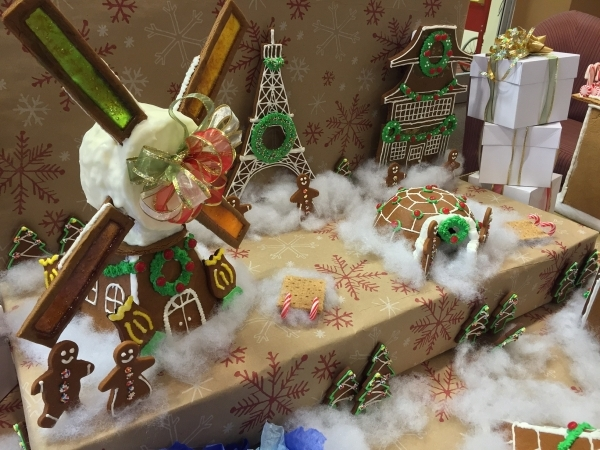The Its A Small World is shown on display Dec. 8 at Le Cordon Bleu College of Culinary Arts during its One Bite contest. Special to View