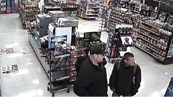 Henderson Police are seeking the public's help to identify two men who recently stole a black Honda Accord from a Circle K convenience store at 1324 N. Boulder Highway.