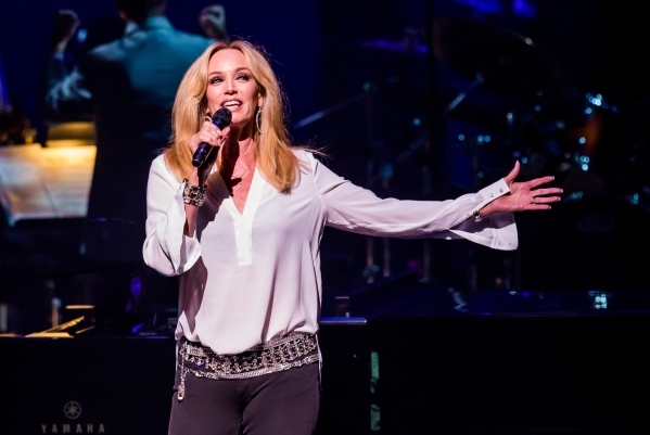 Susan Anton makes her Cabaret Jazz debut Friday, but she performed at The Smith Center's Reynolds Hall in September 2014 as part of the all-star lineup for the Nevada Sesquicentennial Concer ...