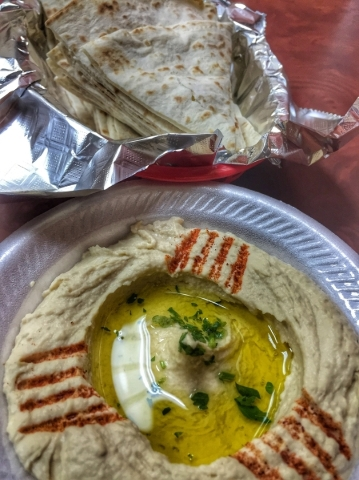 Pita House, 1310 E. Silverado Ranch Blvd., Suite 101, offers a variety of Mediterranean meals, including hummus with fresh pita bread. Fernando Lopez/Special to View