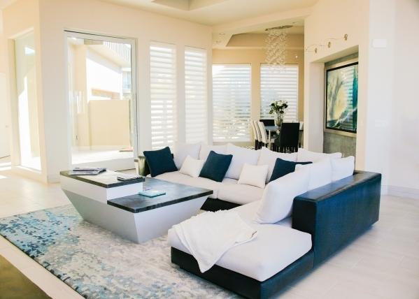 The living room. ELKE COTE/REAL ESTATE MILLIONS