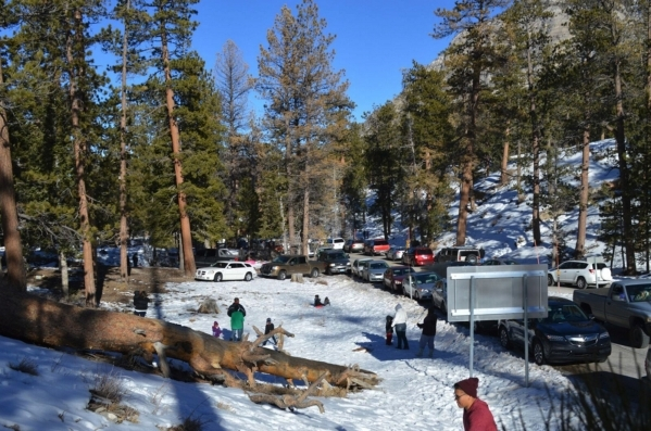 The newly Formed Mt. Charleston Winter Alliance offers tips for snow safety on Mount Charleston at mtcharlestonwinter.com. (Special to View)