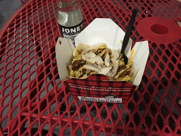Smoke's Poutinerie, 725 Las Vegas Blvd. South, offers Canadian poutine, a dish made of french fries and cheese curds topped with brown gravy. In addition, the eatery serves a variety of spec ...