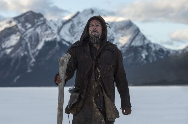 Guided by sheer will and the love of his family, Hugh Glass (Leonardo DiCaprio) must navigate a vicious winter in a relentless pursuit to live and find redemption. Photo Credit: Kimberley French C ...