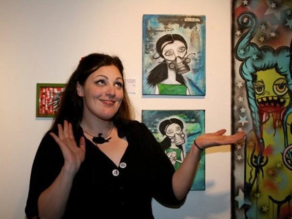 Gina Quaranto is closing Blackbird Studios following a final closing event on Jan. 15 The gallery was known for group themed shows like the 2011 þÄúZombie ApocalypseþÄù show. (Sp ...
