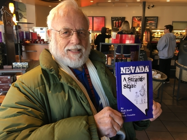At age 81, Rudi Kraft is a transplanted Nevada resident and Boulder City resident who knows more about the Silver State than most locals. (John M. Glionna/Special to the Las Vegas Review-Journal)