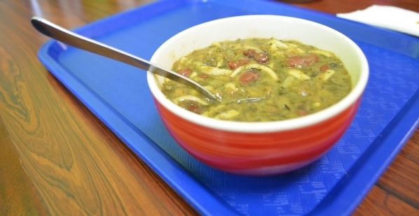 Presto Cafe's aush soup features seven greens, three beans and wheat noodles. The Afghan traditional soup is available daily. Ginger Meurer/Special to View