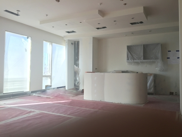 BEFORE: The kitchen in unit No. 2503. COURTESY