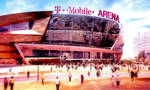 T-Mobile has  agreed to a multiyear, multimillion dollar naming rights deal for the new $375 million arena being built on the Strip by MGM Resorts International and AEG. The arena opens in April.  ...