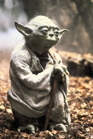 "Yoda in ""Star Wars: The Empire Strikes Back"" (Lucasfilm)"