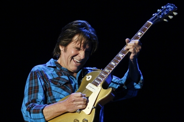 U.S. rock singer John Fogerty performs during the Peace & Love festival in Borlange, in the Swedish midwest July 4, 2010.  REUTERS/Niklas Larsson/Scanpix (SWEDEN - Tags: ENTERTAINMENT) NO COMM ...