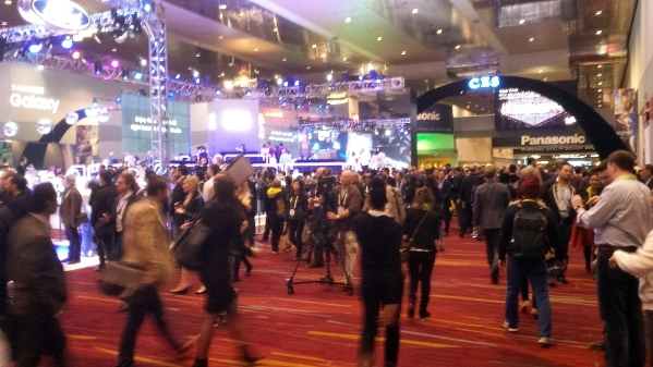 Crowds fill hall at opening of 2016 CES at Las Vegas Convention Center. RICHARD N. Velotta/Las Vegas Review-Journal