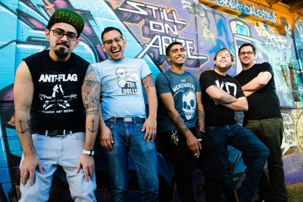 """Local punk band Rayner will celebrate the release of its 10-song debut, """"In Circles,"""" with a show Saturday at the Hard Rock Cafe. STEVE MATVIEW/COURTESY PHOTO"""