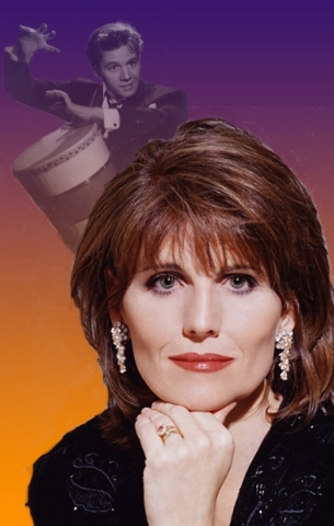 """With a photo of her father, Desi Arnaz, in the background, Lucie Arnaz celebrates her """"Latin Roots"""" this weekend at The Smith Center's Cabaret Jazz. COURTESY SMITH CENTER FOR THE P ..."""