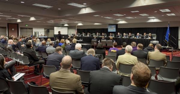 The Las Vegas Convention and Visitors Authority board of directors meets at Cashman Center on Tuesday, Jan. 12, 2016. Mark Damon/Las Vegas News Bureau