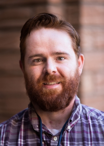 Las Vegas Review-Journal reporter James DeHaven (Chase Stevens/Las Vegas Review-Journal Follow @csstevensphoto)