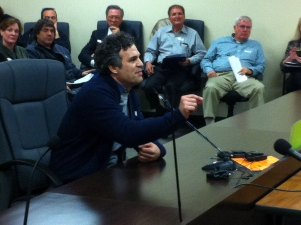 Actor Mark Ruffalo, a New York state advocate for rooftop solar, chastised members of the Nevada Public Utilities Commission on Wednesday for voting to include them in a new net metering rate that ...