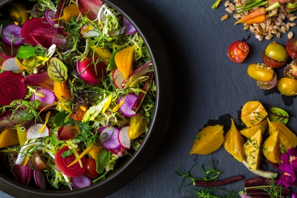 Harvest Farmer's Salad is one of the specialties at Harvest at Bellagio. (Courtesy photo)