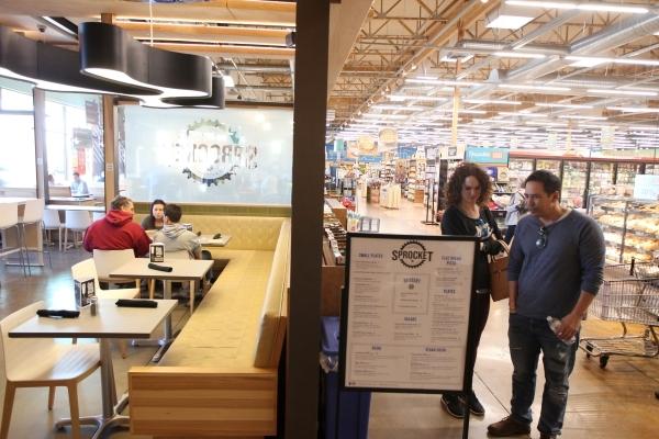 Chef Johnny Church, left, and Sous Chef Jon VanHusen prepare orders at Artisanal Foods in Las Vegas on Saturday, Jan. 16, 2016. Jason Ogulnik/Las Vegas Review-Journal