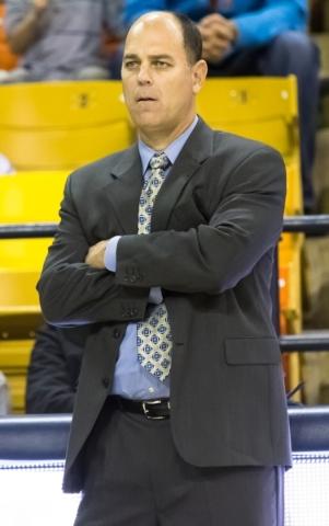 Utah State coach Tim Duryea. Courtesy, Utah State sports information department